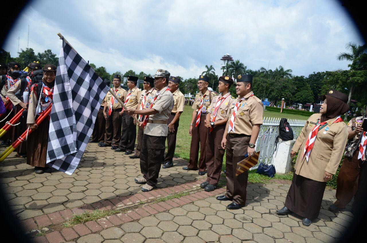 880 Penggalang Ikut Lomba Regu Pramuka Tingkat Iii Inilah Online Aneka Badge