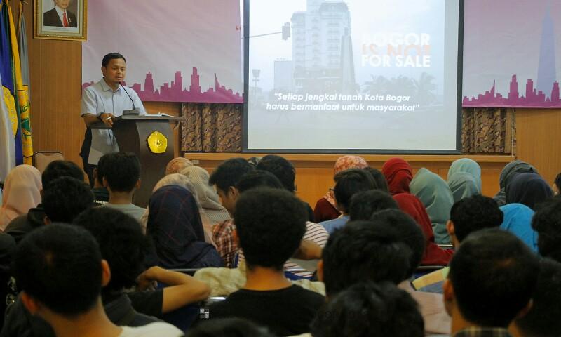 Wali Kota Bogor Bima Arya Beri Kuliah Umum Pemberantasan Korupsi di UNPAK