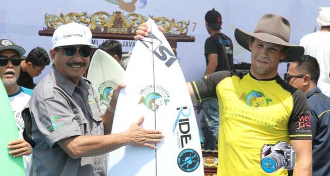 International Surf Exhibition Cimaja, Ajang Promosi Geopark Ciletuh