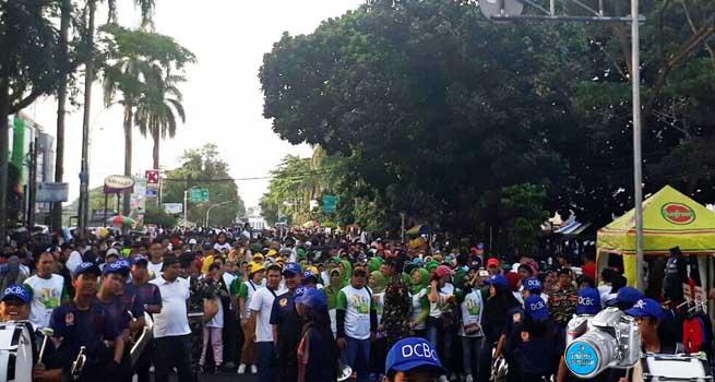 DPD KNPI Kota Bogor Gelar Jalan Sehat