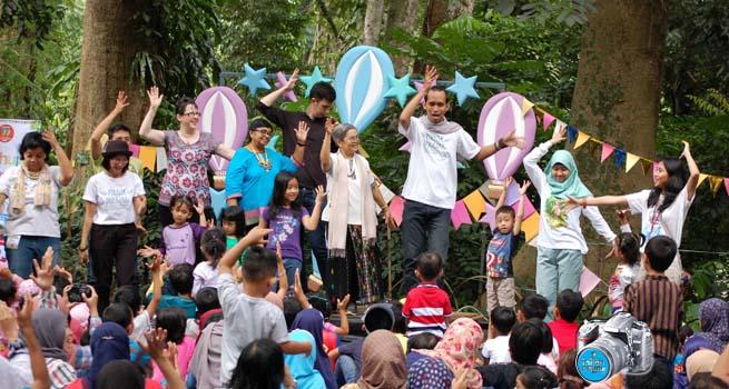 Pendongeng Internasional Siap Berikan Kejutan di Festival Dongeng Kota Hujan 11 November Mendatang