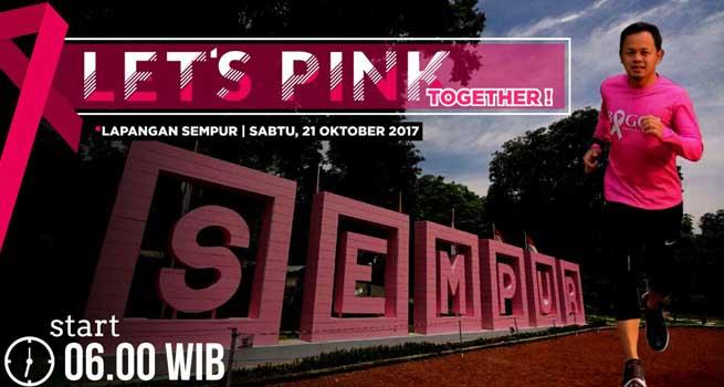 Peduli Kanker Payudara, Ribuan Warga Akan Lari Gunakan Kaus Pink