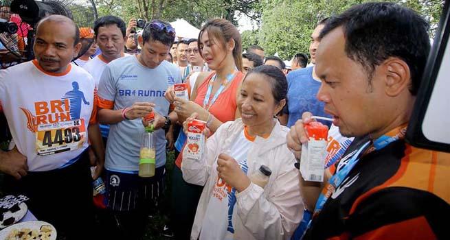 Dari Menteri BUMN Hingga Wakil Gubernur Jakarta Ikuti BRI Run Bogor Series 2017