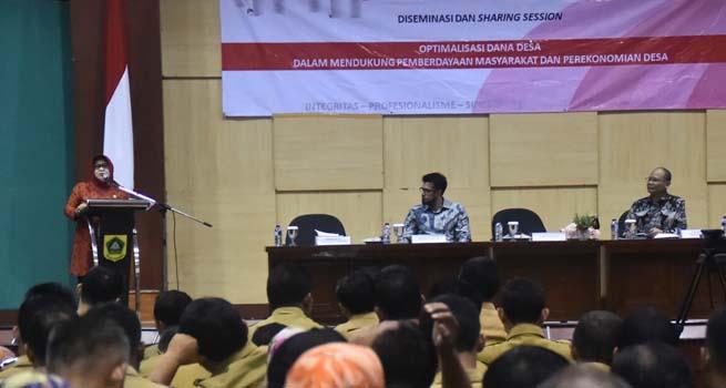 Kemenkeu RI Gelar Diseminasi Dana Desa untuk Kepala Desa di Kabupaten Bogor