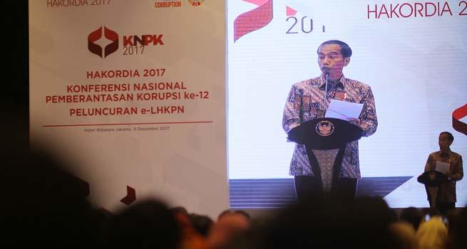 Presiden Jokowi Buka Hakordia 2017