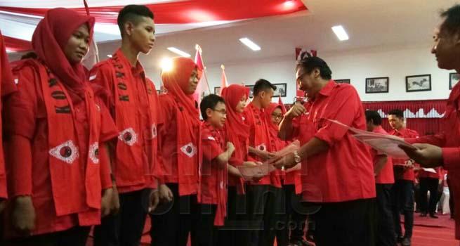 DPD PDIP Jateng Lantik Sebanyak 630 Kader Komunitas Juang dari 35 Kabupaten/Kota