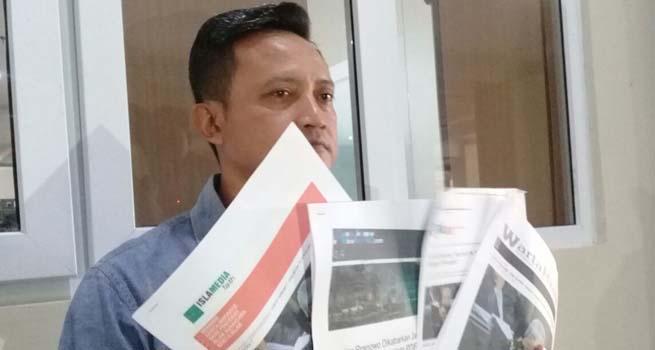 Tulis Berita Hoax, Empat Media Dilaporkan ke Polda Jateng