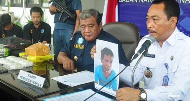 BNNP Jateng Tangkap 4 Pengedar Narkoba Satu Pelaku Ditembak Mati