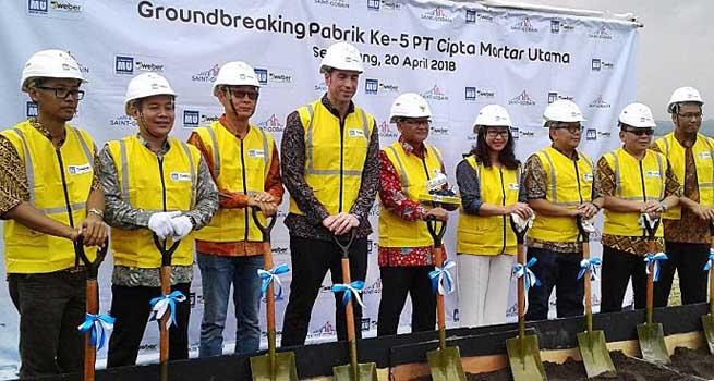 CMU Dirikan Pabrik Semen Instan di Semarang dengan Modal Rp150 Miliar