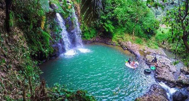 Curug Ciangin Kawasan Wisata Andalan Kabupaten Subang