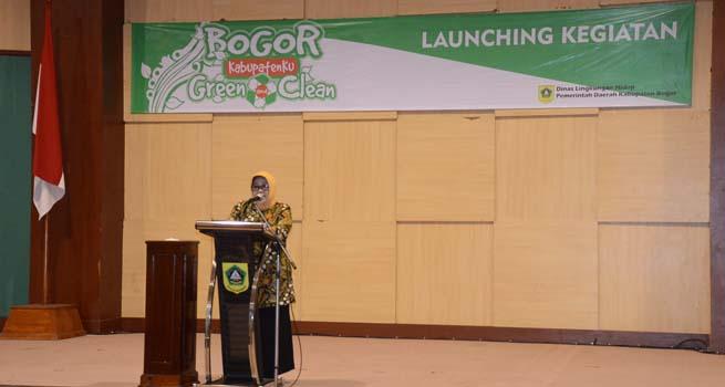 Launching Bogor Kabupatenku Green and Clean Tahun 2018