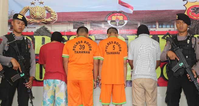 4 Pelaku Penganiaya Pelajar Di Cigombong Dibekuk Polres Bogor, 2 Masuk DPO