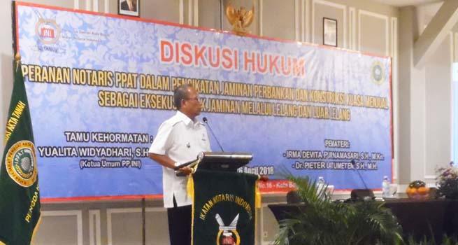 Pengda INI Kota Bogor Gelar Diskusi Hukum Pertanahan