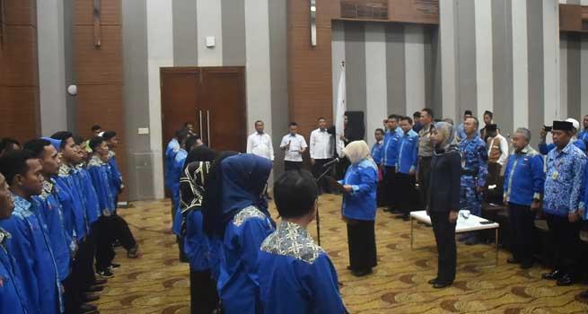 Pengurus Kontingen Peparda V Jawa Barat Resmi Dilantik