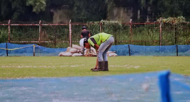 Renovasi Stadion GOR Pajajaran Capai 50 Persen