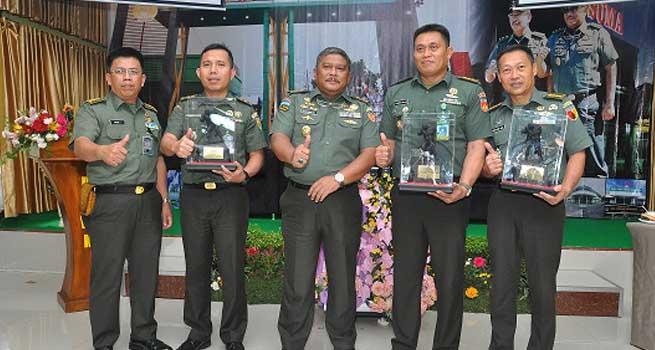 "Rumkit TK-III 04.06.01 Wijayakusuma Purwokerto Kembali Raih ""Hospital Award"""