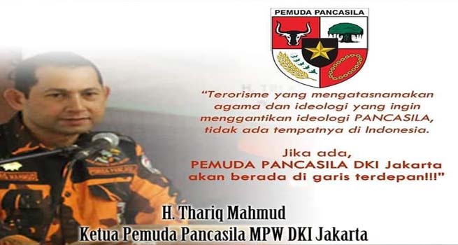MPW PP DKI Jakarta Kutuk Teror Bom di Surabaya