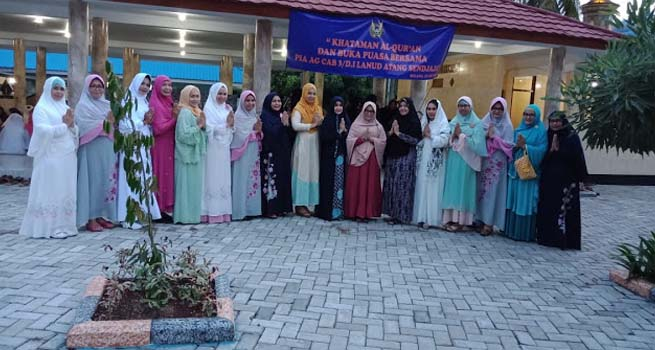 PIA AG Lanud Atang Sendjaja Gelar Khataman Al-Quran dan Buka Puasa Bersama