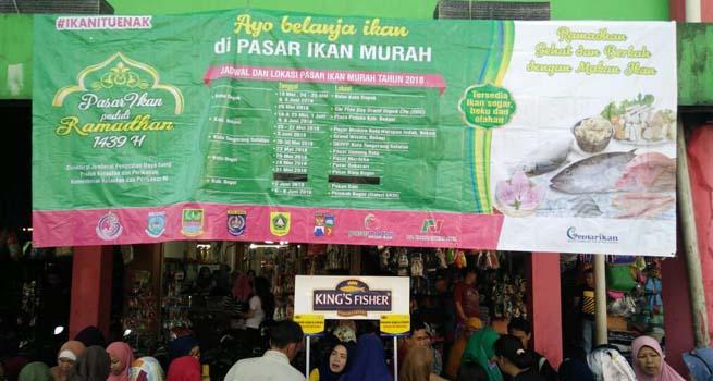PD PPJ Gelar Bazar Ramadhan Pasar Ikan Murah