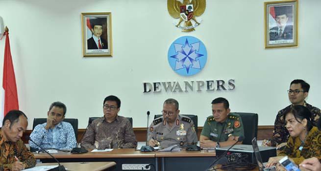 Kapuspen TNI Berikan Masukan Kepada Pers Agar Mengedepankan Jiwa Nasionalisme