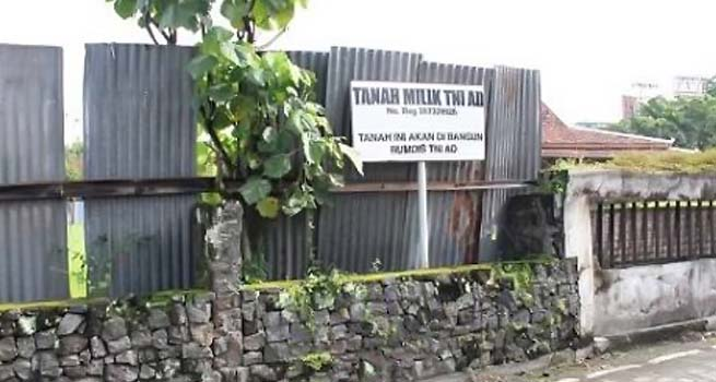 Kodam IV/Diponegoro Selamatkan Aset TNI AD
