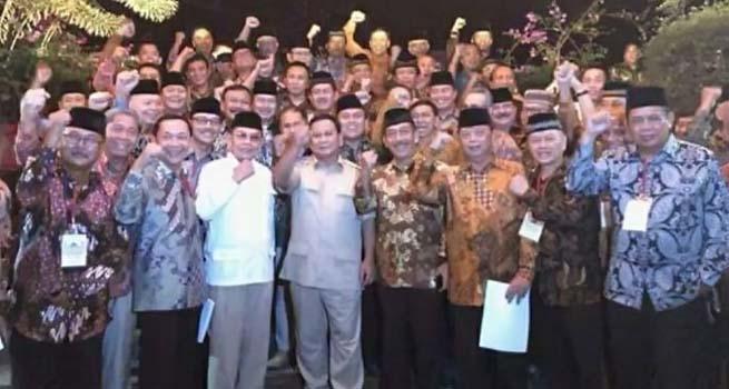 Lebih dari 60 Jendral (Purn) Berkumpul di Hambalang, Sepakat Mendukung Prabowo Subianto Maju di Pilpres 2019