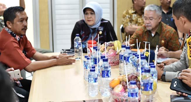 Bupati Bogor Evaluasi Kesiapan Pemilukada Di Kabupaten Bogor