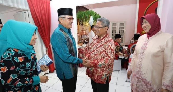 Plt Gubernur Jateng Heru Sudjatmoko Gelar Open House untuk Warga
