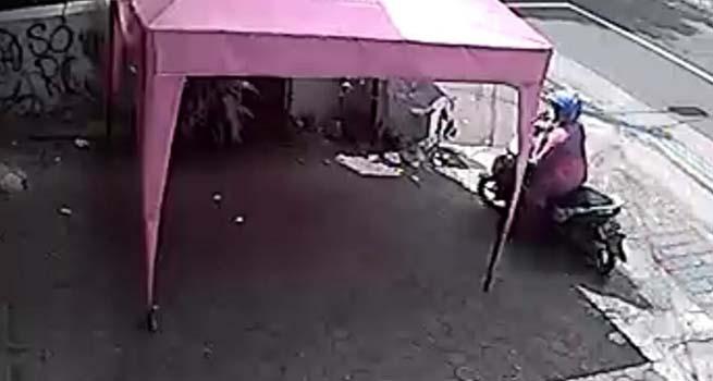 Pelaku Pencurian Meter Air Terekam CCTV, Waspada, Aksi Dilakukan pada Siang Hari