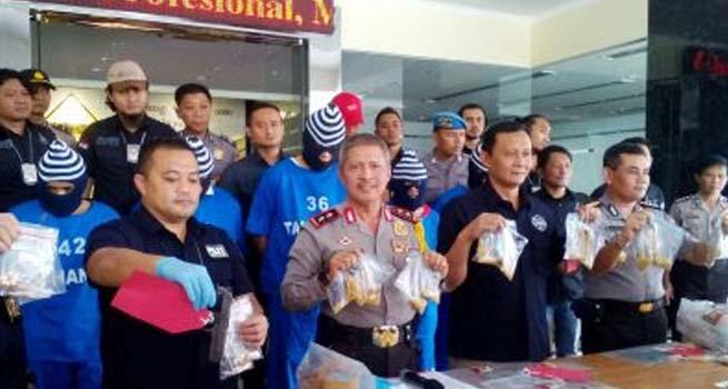 Komplotan Perampok Emas Lintas Wilayah Berhasil Dibekuk Polda Jateng