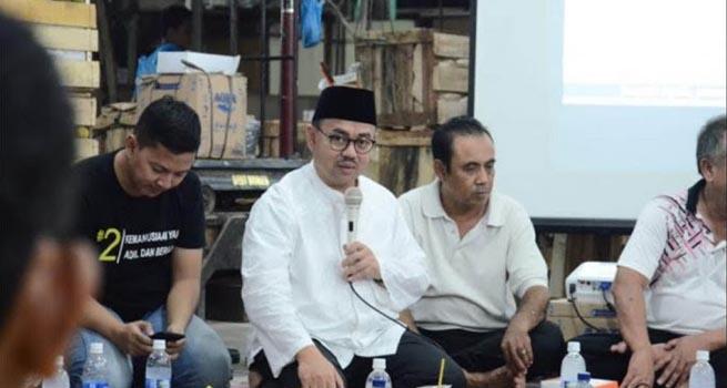 Cagub Sudirman Said Rayakan Idul Fitri di Brebes