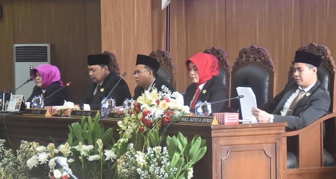 Bupati dan Wakil Bupati Terpilih Hasil Pilkada Serentak 2018 Diumumkan DPRD Kabupaten Bogor