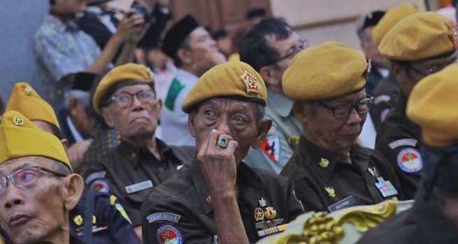Dihadapan Veteran, Walikota Bogor Ingatkan Semangat Persatuan