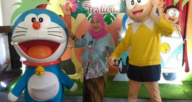 Jateng Fair 2018 di PRPP, Doraemon dan Nobita Diharapkan Dongkrak Pengunjung