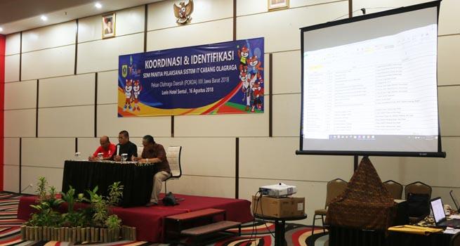 Panitia Porda Jabar Gelar Rapat Koordinasi dan Identifikasi