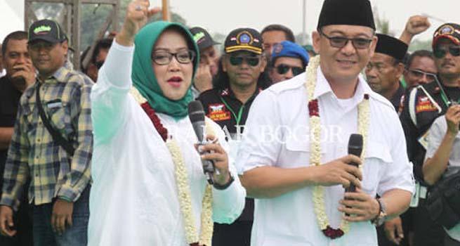 Pasangan Ade Yasin dan Iwan Setiawan (HADIST) Ditetapkan Sebagai Pemenang Pilbub Bogor 2018