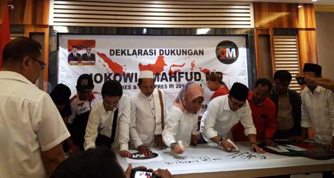Relawan Jokowi-Mahfud Tetap Dukung, Meski Maruf Amin yang Dipilih