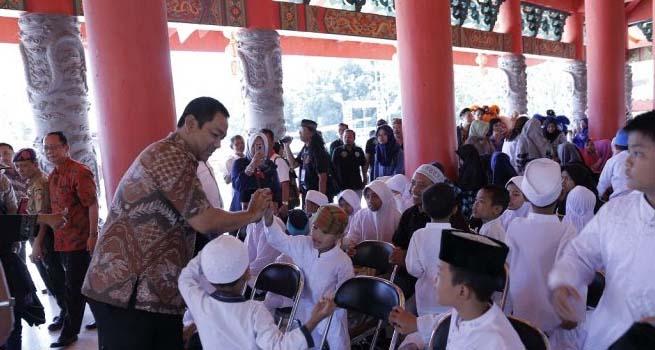 Ribuan Umat Budha, Khonghucu dan Tao Ikuti Upacara Kirab Budaya Peringati Kedtangan Laksamana Cheng Ho