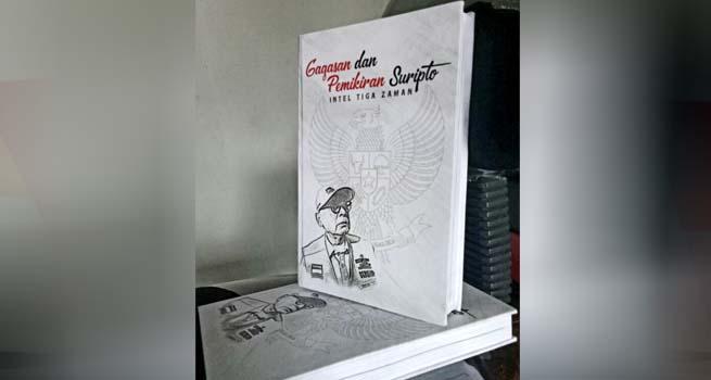 Suripto Luncurkan Buku Pemikiran Intel Tiga Zaman
