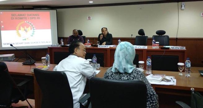DPD RI Evaluasi Dana Otsus Aceh dan Papua