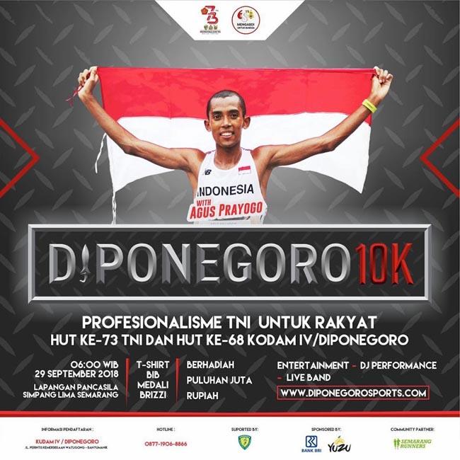 Pangdam IV Ajak Masyarakat Ikuti Diponegoro 10 K
