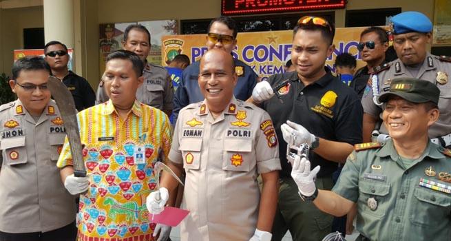 Dua Jambret Ditangkap di RPTRA Meruya Utara