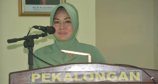 Ny. Iir Wuryanto : Kita Harus Bangga Menjadi Anggota Persit Kartika Chandra Kirana