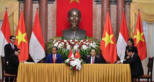 Indonesia dan Vietnam Sepakat Kerja Sama Berbagai Bidang