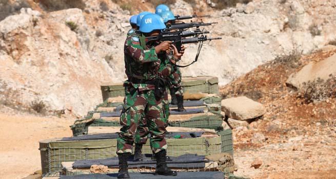 Satgas Indobatt Juara Umum Menembak Tingkat UNIFIL di Lebanon