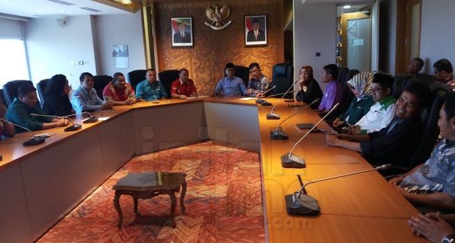 Ketua MPR Terima 50 Pimpinan OKP, Bahas Silatnas Pemuda Indonesia