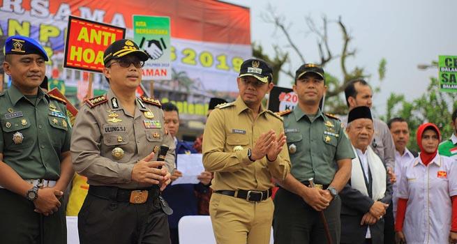 Muspida Kota Bogor Gelar Deklarasi Damai Pemilu 2019