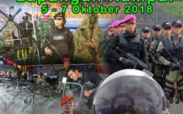 Rayakan HUT Ke-73, TNI Se-Malang Raya Bakal Menggelar Pameran Alutsista
