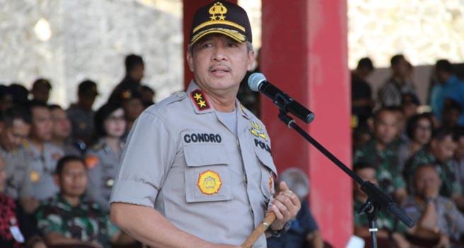 Kapolda Jateng Meminta Jajaran POLRI, TNI dan ASN Tetap Netral dalam Pemilu 2019