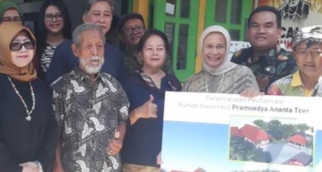 Kemendikbud Perbaiki Rumah Tinggal Pramoedya Ananta Toer